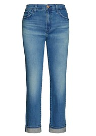 J Brand Tate Boy Fit Jeans - Sorority Raze