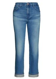 J Brand Tate Boy Fit Jeans - Sorority Raze