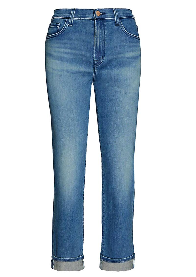J Brand Tate Boy Fit Jeans - Sorority Raze main image