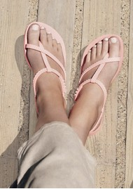 Ipanema Wish Sandals - Blush Snake