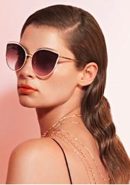 NEON HOPE Bast Sunglasses with Chain - Black