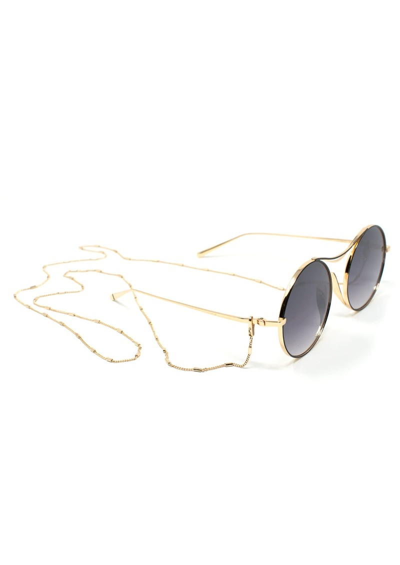 NEON HOPE Limited Edition Sulis Sunglasses with Chain - Black main image