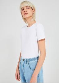 American Vintage Vegiflower Organic Cotton T-Shirt - White