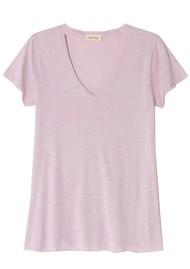 American Vintage Jacksonville Short Sleeve T-Shirt - Vintage Lilas
