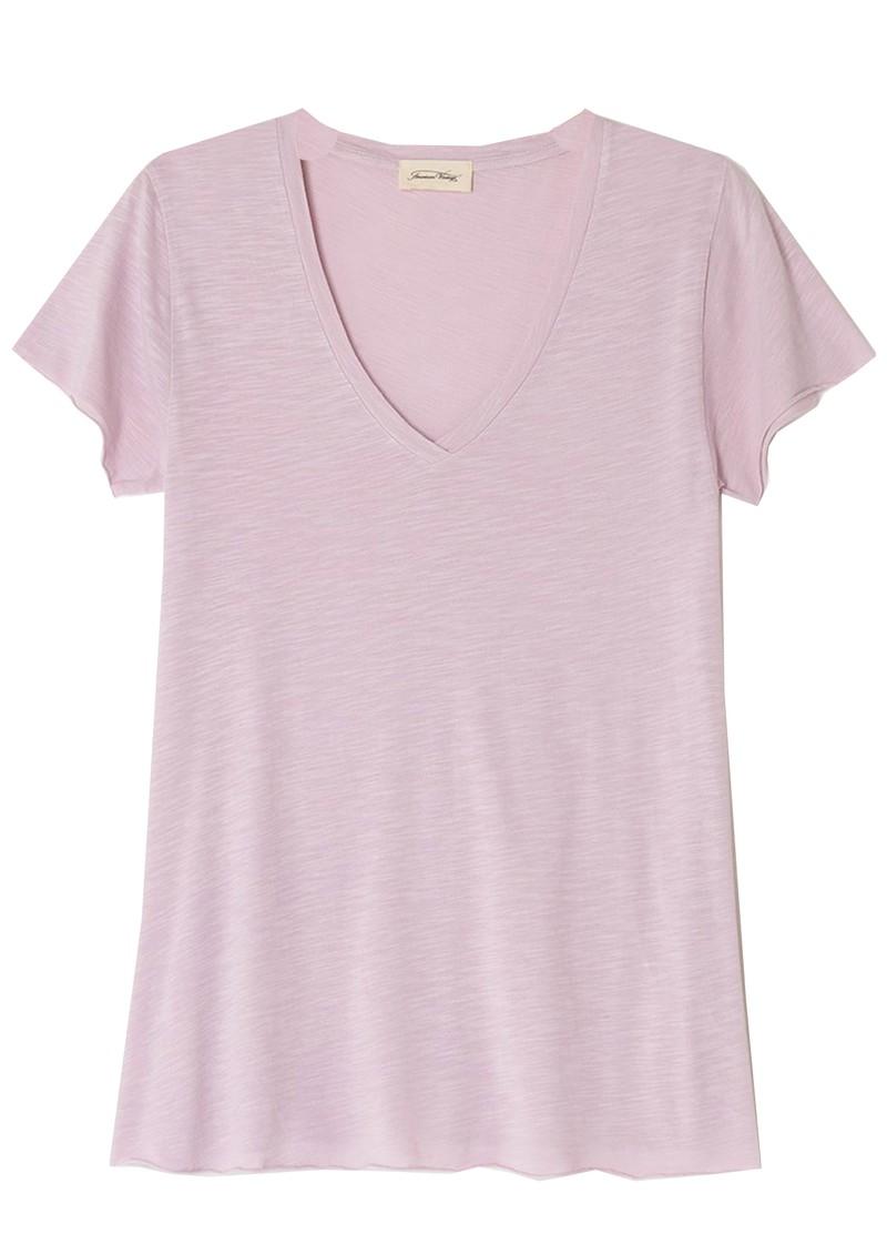 American Vintage Jacksonville Short Sleeve T-Shirt - Vintage Lilas main image