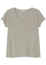 American Vintage Jacksonville Short Sleeve T-Shirt - Vintage Sandstone