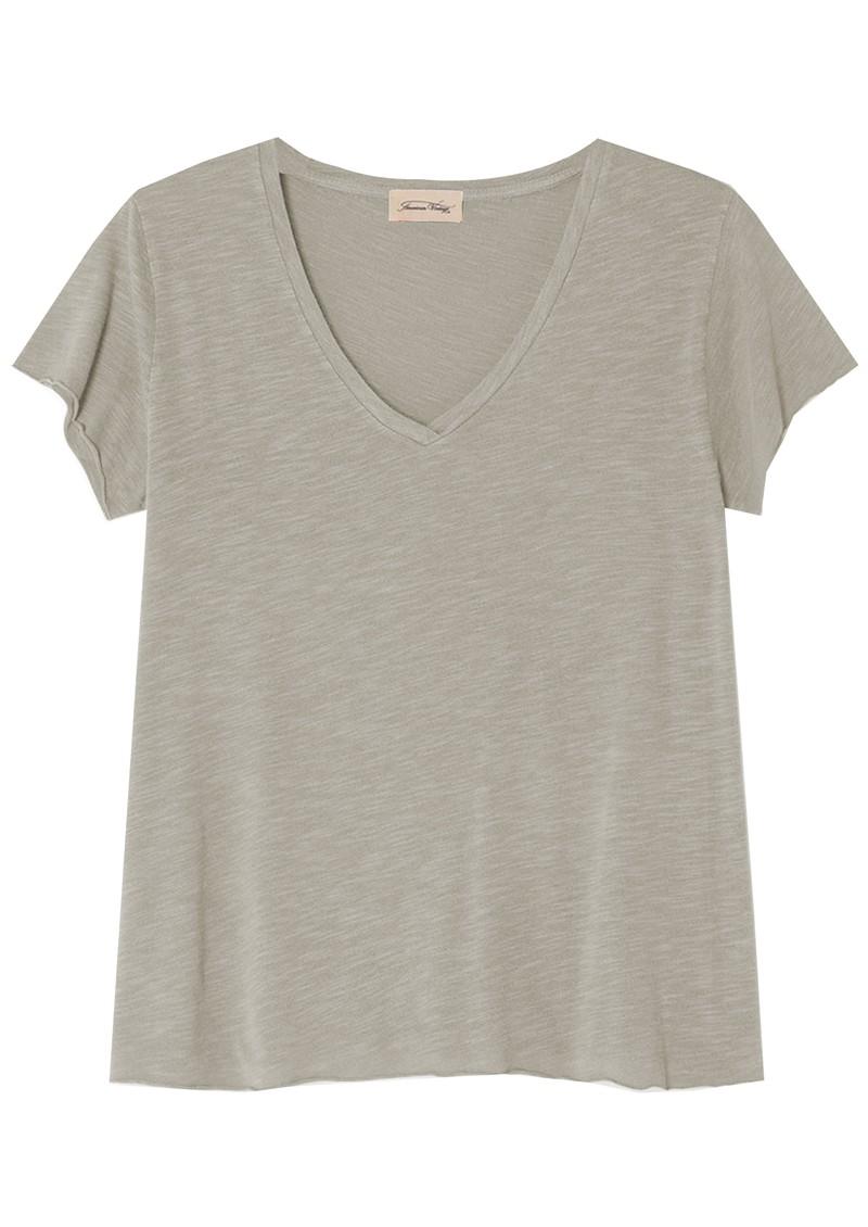 American Vintage Jacksonville Short Sleeve T-Shirt - Vintage Sandstone main image