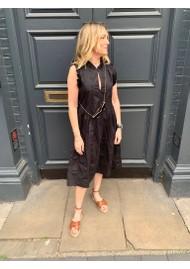 DEA KUDIBAL Brigitta Cotton Dress - Black