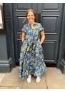 SAMSOE & SAMSOE Margo Long Printed Dress - Marguerite
