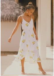 Rails Frida Linen Mix Dress - Citronnade