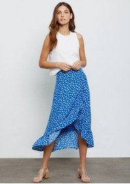 Rails Nova Skirt - Cobalt Floating Daisy