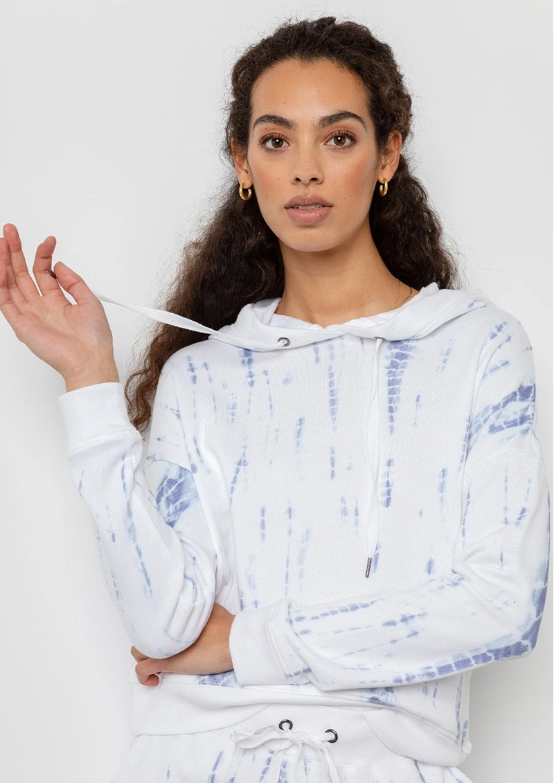 Rails Murray Cotton Mix Hoodie - Cloud Tiedye main image