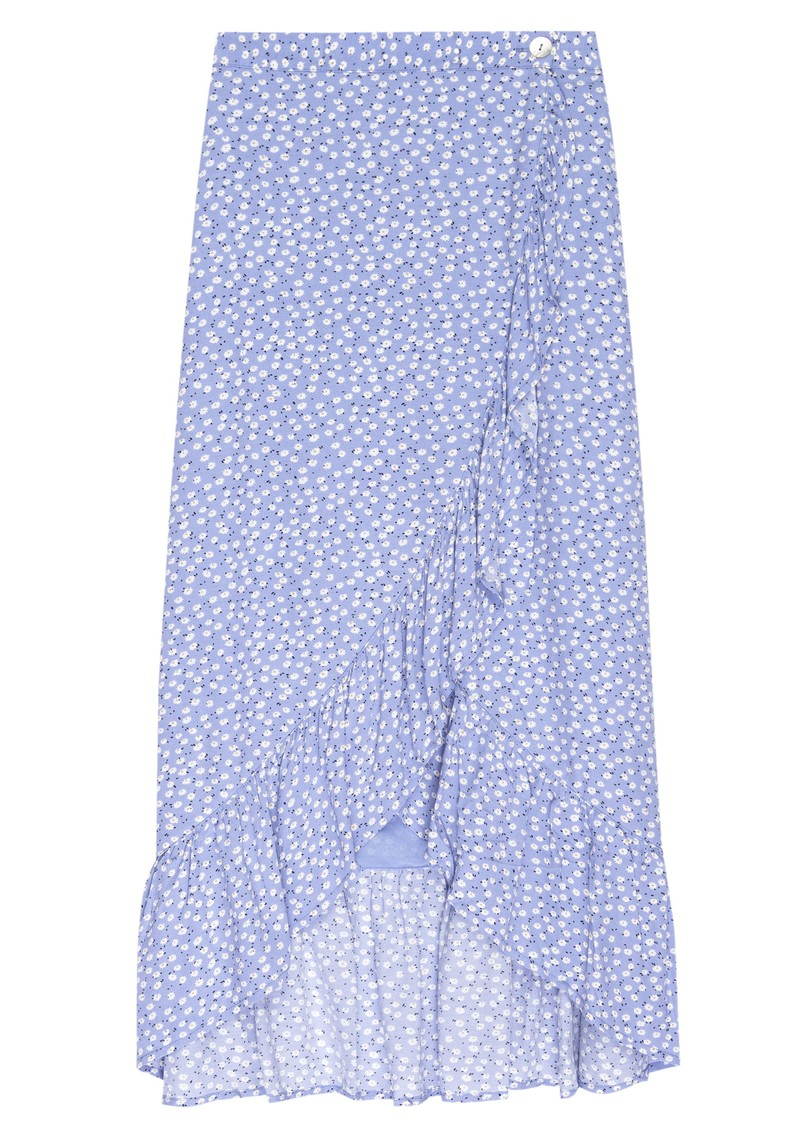 Rails Nova Skirt - Sky Blue Daisies main image