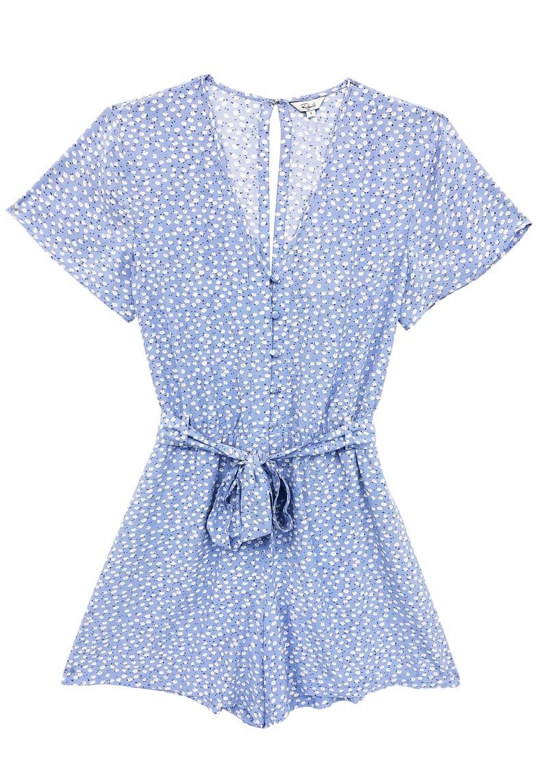 Rails Sophia Printed Playsuit - Sky Blue Daisies  main image