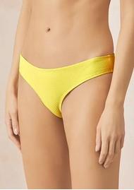 HEIDI KLEIN Cancun Hipster Bottoms- Yellow