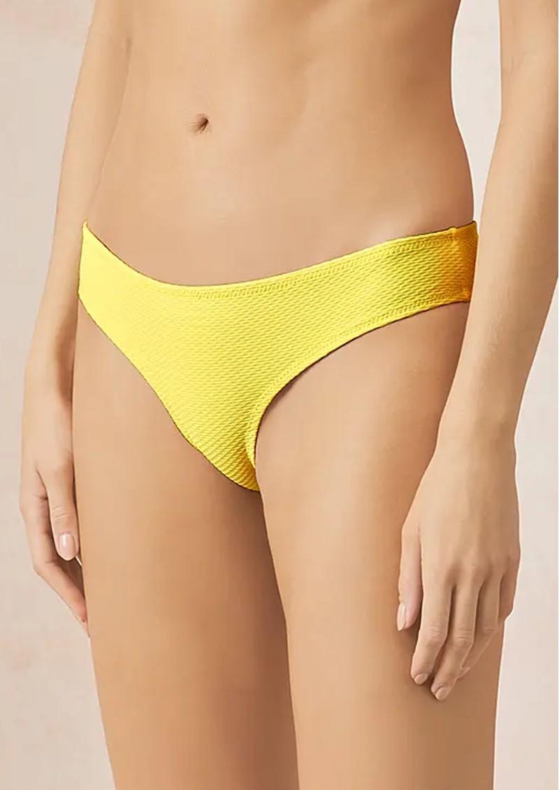 HEIDI KLEIN Cancun Hipster Bottoms- Yellow main image