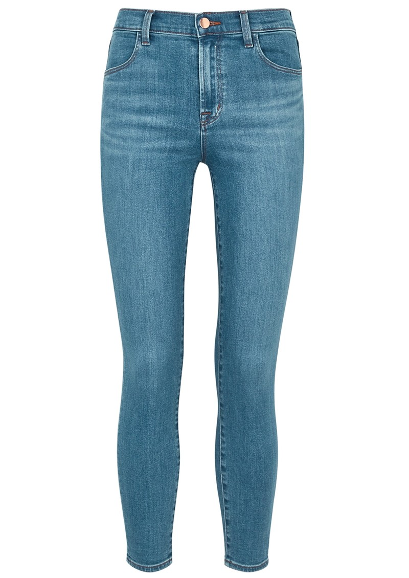 J Brand Alana High Rise Cropped Skinny Photo Ready Jeans - Pioneer main image