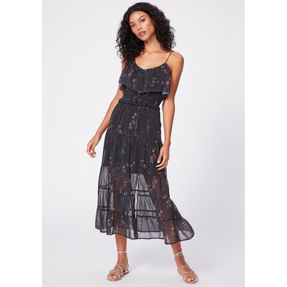 Kalani Dress - Black Multi