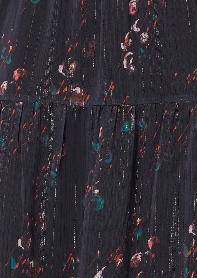 Paige Denim Kalani Dress - Black Multi main image