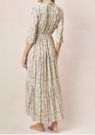 HEIDI KLEIN Maxi Shirt Dress - Python