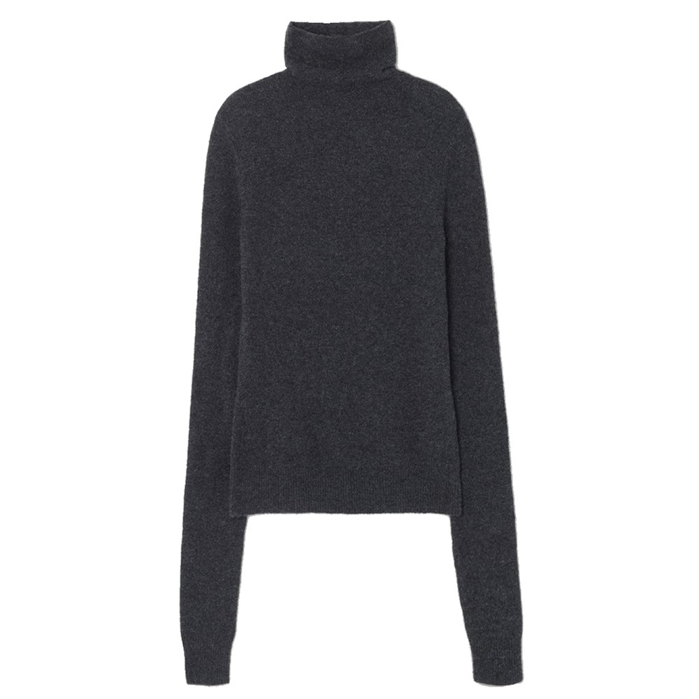 Damsville Roll Neck Jumper - Shower Melange