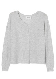 American Vintage Damsville Cardigan - Heather Grey