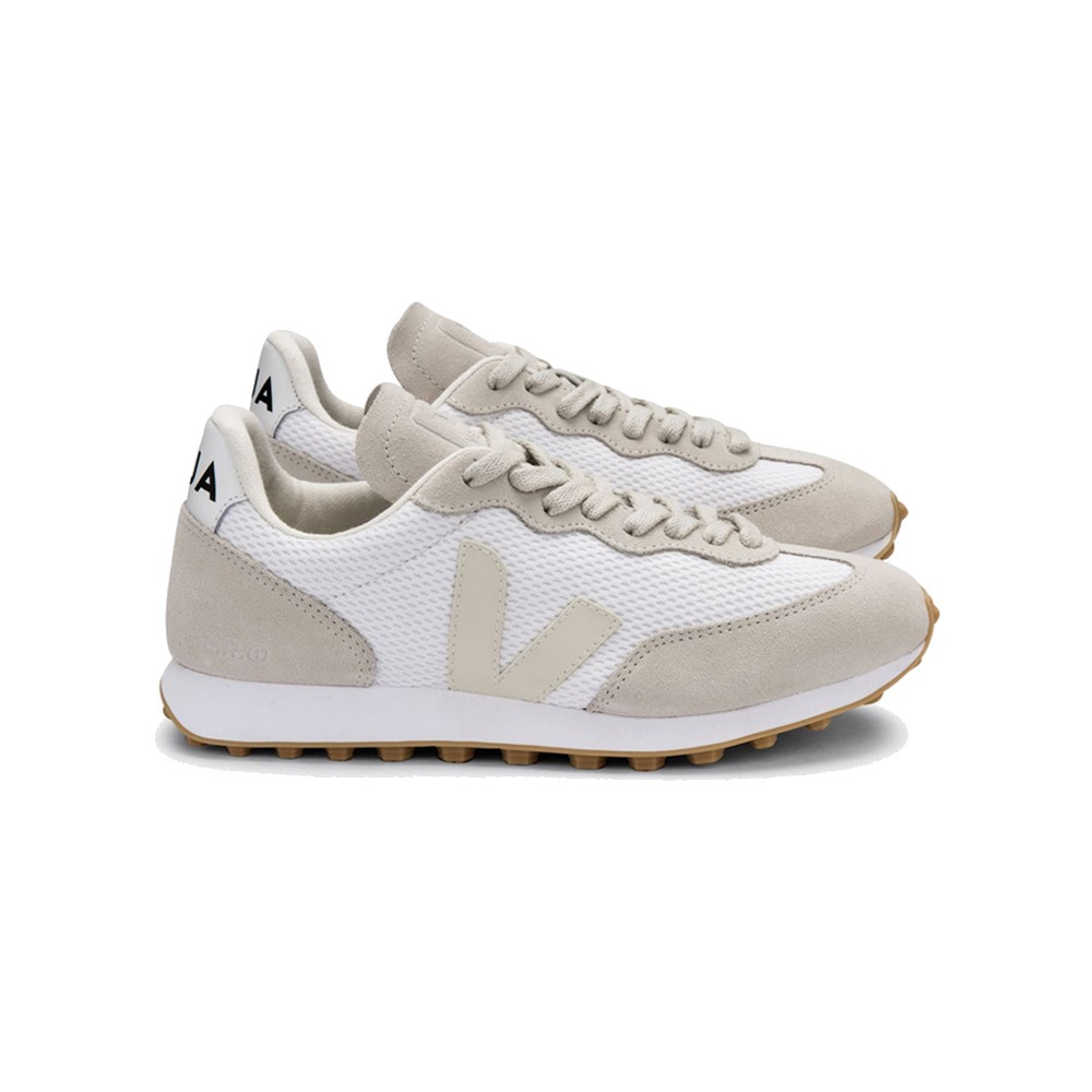 Riobranco Hexamesh Trainers - White Pierre Natural