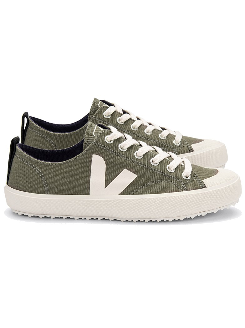 Nova Canvas Trainers - Kaki Pierre main image