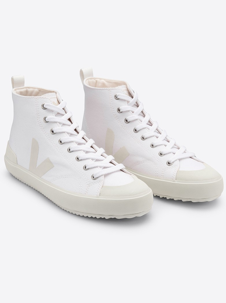 VEJA Nova Canvas HT Trainers - White Pierre main image