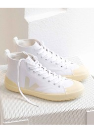 VEJA Nova Canvas HT Trainers - White Pierre