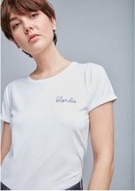 MAISON LABICHE Blondie Organic GOTS Cotton Blondie Tee - White