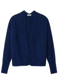 American Vintage East Short Cardigan - Royal Blue