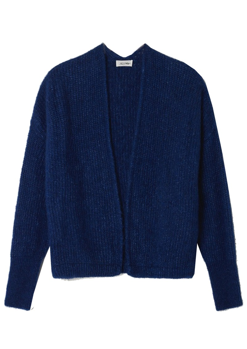 American Vintage East Short Cardigan - Royal Blue main image