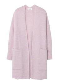 American Vintage East Long Cardigan - Baby Lilac
