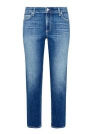 Paige Denim Brigitte High Rise Slim Fit Boyfriend Jeans - Bazaar