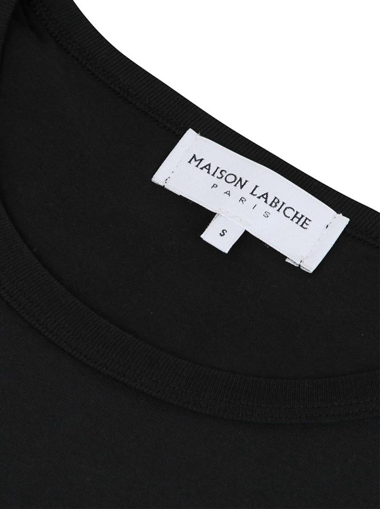 MAISON LABICHE Tutto Bene Organic GOTS Cotton Tee - Black main image