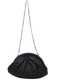 NUNOO Saki Silky Quilted Leather Bag - Black