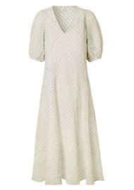 LEVETE ROOM Kiwi 1 Dress - Antique White