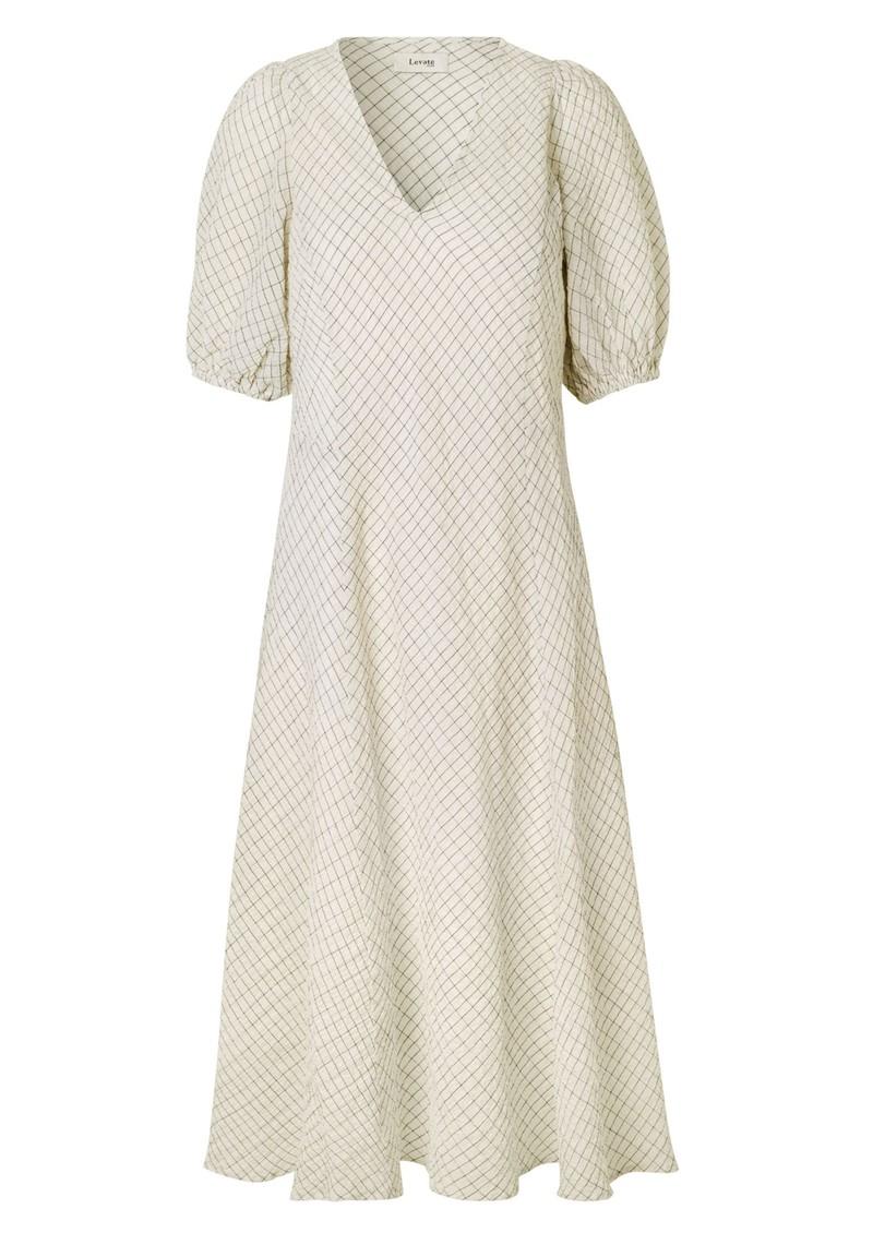 LEVETE ROOM Kiwi 1 Dress - Antique White main image