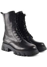 Ash Liam Biker Boot - Black