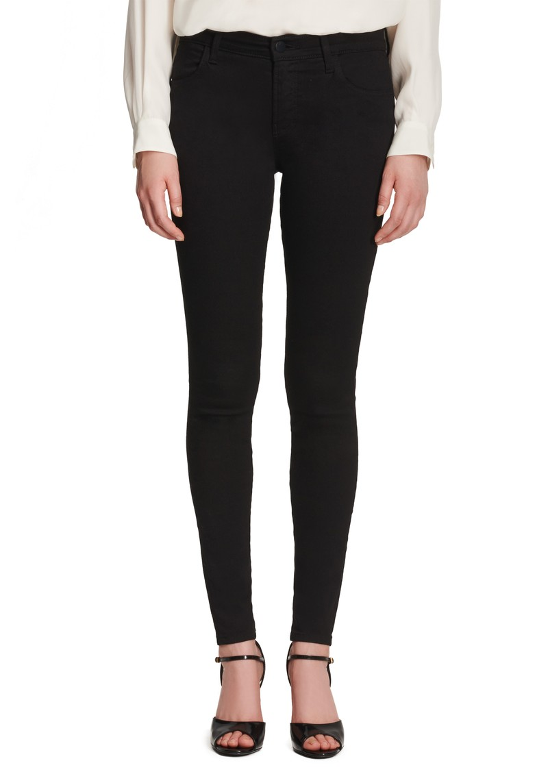 Sophia Mid Rise Super Skinny Eco Wash Jeans - Shadow main image