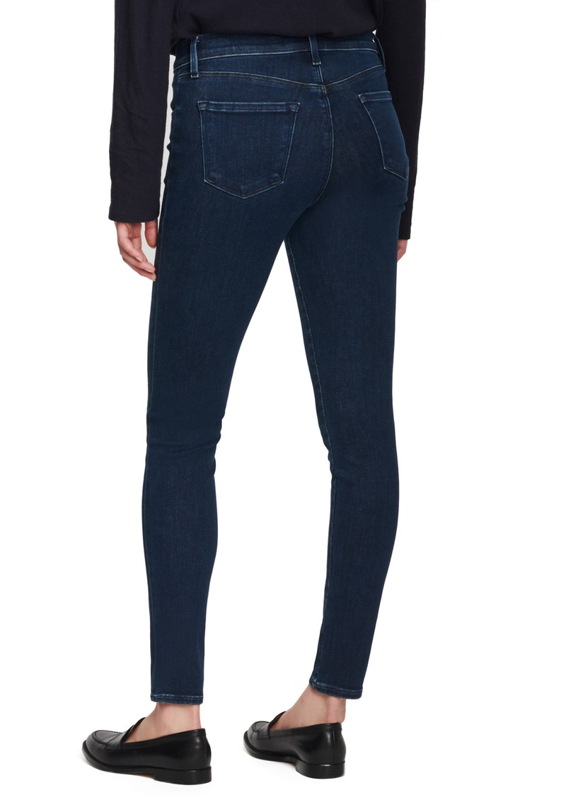 J Brand Sophia Mid Rise Super Skinny Eco Wash Jeans - Superior main image