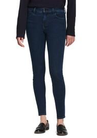J Brand Sophia Mid Rise Super Skinny Eco Wash Jeans - Superior