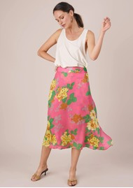 BAILEY & BUETOW Colette Skirt - Pink Floral