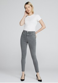 J Brand Leenah Super High Rise Ankle Skinny Jeans - Knots