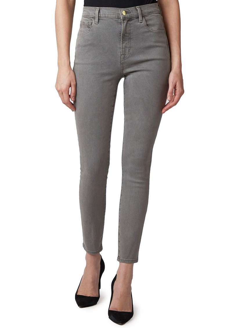 J Brand Leenah Super High Rise Ankle Skinny Jeans - Knots main image