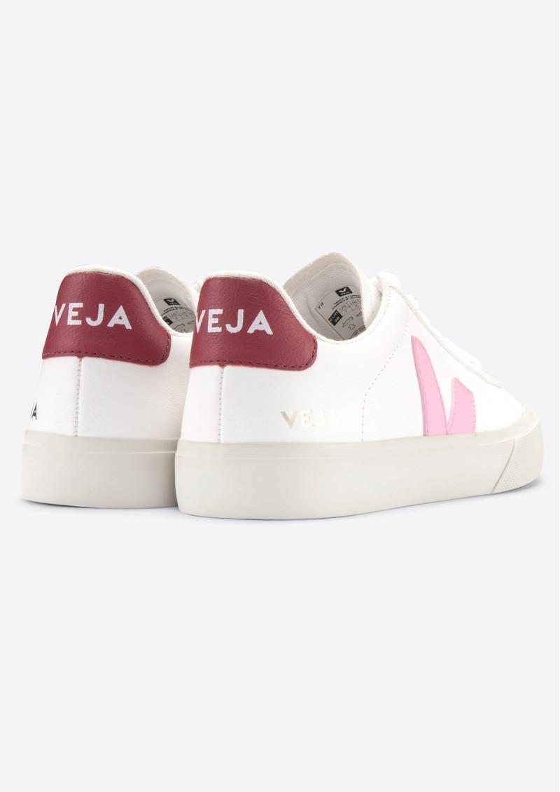 VEJA Campo Leather Trainers - Extra White, Guimauve & Marsala main image