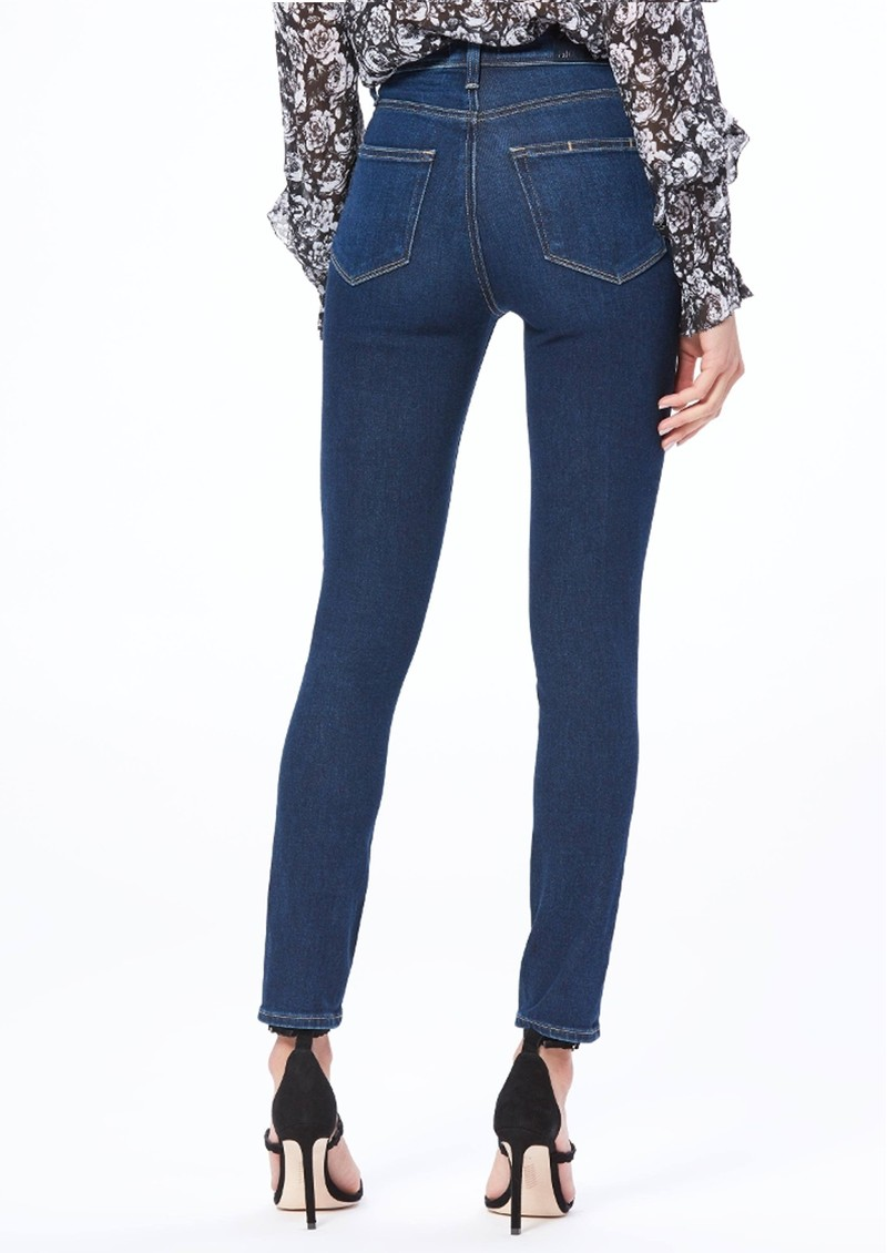 Paige Denim Margot High Rise Skinny Jeans - Claudia main image