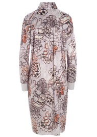 DEA KUDIBAL Katelina Silk Dress - Oriental Rose