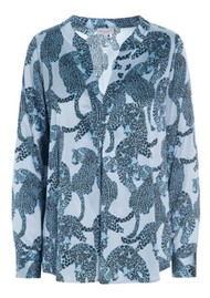 DEA KUDIBAL Santena Silk Blouse - Animal